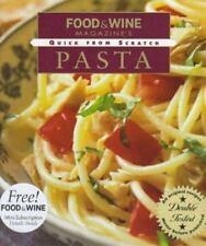 Pasta by Food and Wine Magazine Staff