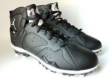 Jordan Retro 7 Football Cleats Black/White 719543-010 Sz 12