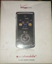 New listing Lg Chocolate 3 Vx8560 - Black (Verizon) Cellular flip Phone Used in box