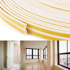50 metros Burlete Adhesivo para Puerta Ventana Self Adhesive D Type