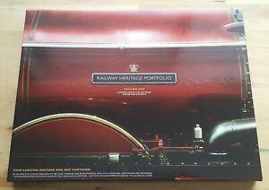2010 RAILWAY HERITAGE PORTFOLIO BOXED SET VOLUME ONE