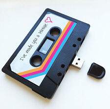 16GB USB Mix tape- Birthday Gift - Wedding, Girlfriend, Cute, Thoughtful, Music