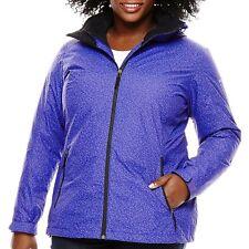 Columbia Women's South Sister Summit Interchange Jacket - Plus Hyper Purple 1X
