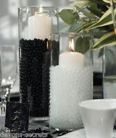 10 pks x wedding table centerpiece party water aqua beads crystals ball vase NEW