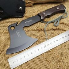 Knife Sharp tactical tomahawk axe outdoor machete steel survival CAVRA 5Cr15Mov