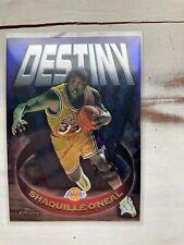 Shaquille O'Neal Shaq 1997-98 Topps Chrome Destiny Insert #D15 HOF