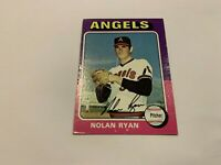 1975 Topps Nolan Ryan California Angels #500 Baseball Card VG+-EX
