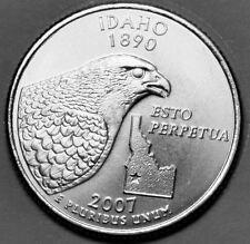 2007 D Idaho - State Quarter 1 ea. Uncirculated w/Satin Finish