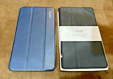 2 pack (1 Black and 1 Navy) Google Nexus 7 2013 Case Smart Cover Case Ultra Slim