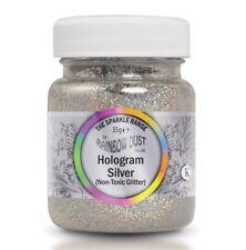 Rainbow Dust Non Toxic Silver Hologram Glitter Bulk Jar Non Edible Glitter