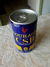 Courage Csb Sparkling Beer Can * England * 11.1 Oz Can * Opened At Bottom *