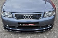 CUP Spoilerlippe für Audi S3 A3 8L S-Line Frontspoiler Spoilerschwert Lippe