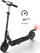 "Kugoo S1 - Electric scooter 8"", 30km/h, 18MPH, 6Ah, 350W, IP54, LCD 3Speed, Nero"