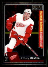 2016-17 O-Pee-Chee Platinum #185 Anthony Mantha Red Wings Rookie (ref 28571)