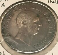 1841 A Hannover Thaler - German States Silver