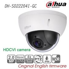 Dahua 2MP 4x Optic Zoom PTZ HDCVI Dome Camera WDR HD 1080P IP66 IK10 SD22204I-GC
