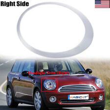 1X RH Headlamp Chrome Ring Cover For Gen2 Mini Cooper Headlight Trim 2007-2015