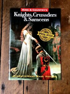 King & Country toy soldiers brochure. Knights, Crusaders & Saracens