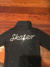"Ice fire Ice Skating Zip Up Top Fleece Child Medium ""skater�"