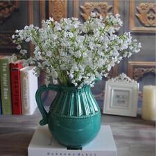 artificiel Gypsophile floral Fleur fausse soie mariage fête Bouquet décor maison