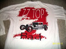 Zz Topp Sx Xl Long Sleeve Tour Shirt Made By Giant