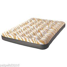 Northwest Territory FULL Designer Air Mattress Bed - Yellow Zebra Design