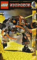 Lego EXOFORCE 'CLAW CRUSHER' Set 8101 100% Complete with Printed Parts List
