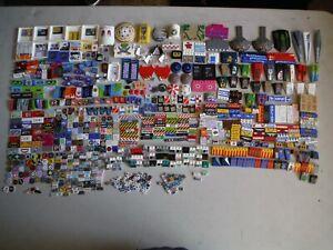 LEGO BULK LOT OF 800 DECORATIVE STICKER TILES SLOPES WEDGES BRICKS AND MORE
