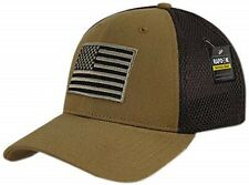 RapDom USA Embroidered Air Mesh Flex Mens Cap OS