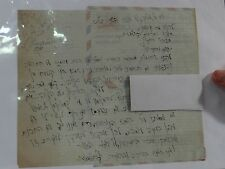 HEBREW RARE SIGNED LETTER BY RABBI JOSEPH B SOLOVEITCHIK YESHIVA UNIVERSITY WOW