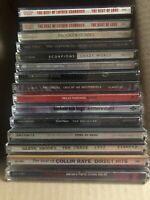 Rock Pop Country Music CD Mixed Lot of 14 CDs Various Artis