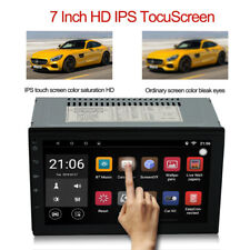7'' Android 8.0 4G WiFi Double 2Din Car FM AM Radio Stereo GPS Navi MP5 Player
