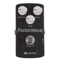 Practical DC9V Guitars Pocket Metal Effect Pedal Distortion True Bypass