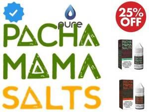Pacha Mama Nic Salt E Liquid Vape Juice 10ml 10mg 20mg Ecig x 1 x 3 x 5