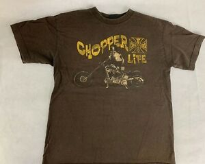 West Coast Choppers Men's Jesse James Motorcycle T Shirt Size Small