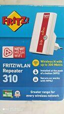 Repeater Wifi Range Extender AVM FRITZ!WLAN 310 regalo router e alimentatore