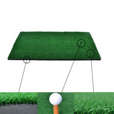 Backyard Golf Mat Residential Training Hitting Pad Practice Rubber Tee Holder SU