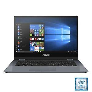 """NEW!! Asus VivoBook Flip TP412F 14"""" Intel i3-8145U 128GB SSD 4GB Windows 10"""