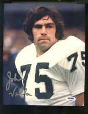 John Vella Oakland Raiders 8x10 Photo Signed Autograph Auto PSA/DNA Football NFL