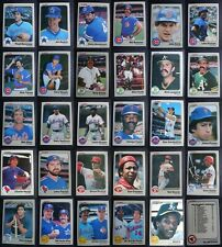 1983 Fleer Baseball Cards Complete Your Set You U Pick From List 441-660