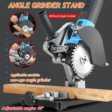 45° Angle Grinder Stand Grinder Holder Cutter Support Cast Iron Base Adjustable