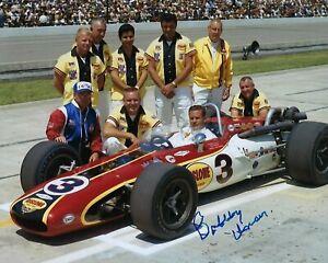 GFA Indianapolis Indy 500 x3 Champion BOBBY UNSER Signed 8x10 Photo B3 COA