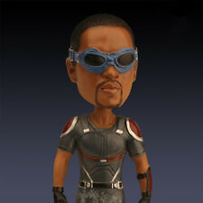 """7"""" Falcon Action Figure Statue Toy The Avengers Bobble Head Resin Doll Gift"""