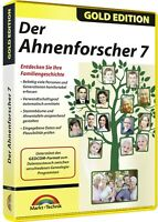 Der Ahnenforscher 7 - Gold Edition - Download Version sofort Versand Win 10,8,7