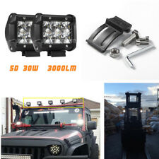 2pcs 3000LM 6000K 5D LED Work Light Bar FOR Pickup Wagon ATV SUV Jeep Truck Boat
