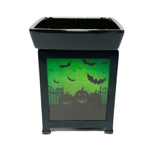 Scentsy Pumpkin Graveyard Warmer Halloween New in box
