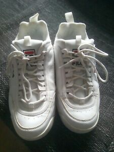 FILA Sneaker Disruptor Low Weiß Turnschuhe Damen Gr. 40 gebraucht