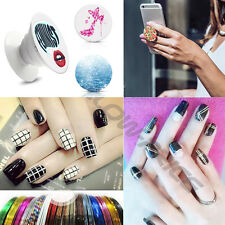 Mixed Colors Rolls Striping Tape Line DIY 3D Nail Art Tips Decoration Sticker AU