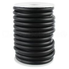 """1/4"""" Black Solid Rubber Cord - 5 Feet - .25"""" Round - Beading Craft Necklace"""