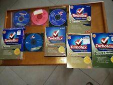 TurboTax Deluxe 2003,2005 ,  Premier 07 08, 09 10 12, 11 business